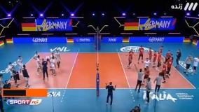 خوشحالی عجیب سرمربی والیبال آلمان پس از شکست ایران