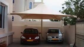 سایبان خیمه ای نمایشگاه ماشین-سقف کششی توقفگاه خودرو-09380039391حقانی