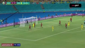 خلاصه بازی اسپانیا ۰ - سوئد ۰