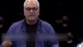 عصبانیت مهران مدیری از رفتار یک مرد : با لگد زدمش !