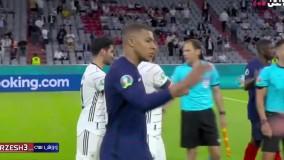خلاصه بازی فرانسه 1 - آلمان 0