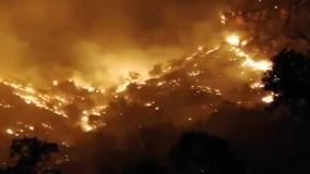 جنگل های زاگرس ، ۶ روز در آتش !