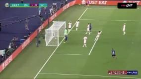 خلاصه بازی ایتالیا 3 - سوئیس 0