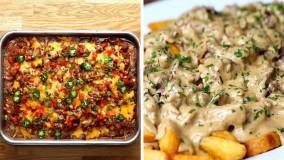 5 ایده جدید و ساده برای شام : آموزش ترفند آشپزی