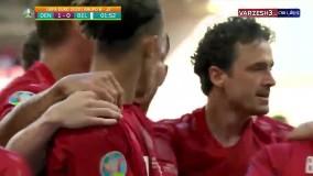دومین گل زودهنگام تاریخ یورو توسط یوسف پولسن