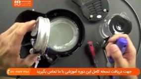 آموزش تعمیر اسپرسوساز - درون یک قهوه ساز