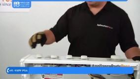 آموزش تعمیر ماشین لباسشویی - تعویض سوپاپ دماي آب واشر