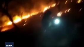 ردپای قاچاقچیان ذغال در آتش سوزی های زاگرس