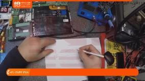 آموزش تعمیر لپ تاپ - روش تعمیر مادربرد لپ تاپ dell vostro 130