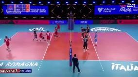 خلاصه والیبال ایران 1 - اسلوونی 3