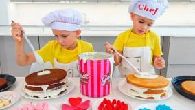 ماجراهای ولاد و نیکی : آشپزی ولاد و نیکی