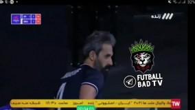 پخش آهنگ ساسی مانکن در بازی والیبال ایران و برزیل
