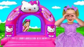 ساشا و دوستان - ساشا قایم موشک بازی می کند و حباب غول پیکر را می سازد