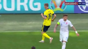 خلاصه بازی سوئد 1 - اسلواکی 0