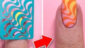 آموزش طراحی ناخن : ایده های جالب طراحی ناخن