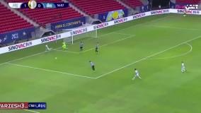 خلاصه بازی آرژانتین 1 - اروگوئه 0