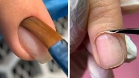 آموزش کاشت ناخن جدید : دیزاین جذاب ناخن