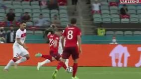 خلاصه بازی سوئیس 3 - ترکیه 1