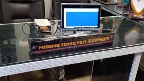 تست سیستم ویژوالایزر (اسکن زمین) در فلزیاب لئوپارد، ساخت آی کا پی وی