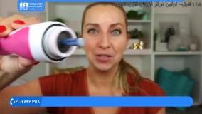 آموزش پاکسازی صورت - استفاده از میکرودرم