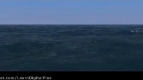 شبیه ساز اقیانوس برای سینما4دی