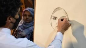 فتوکلیپ شب نهم دهه کرامت در گذر فرهنگی چهارباغ