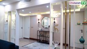 ایده طراحی آپارتمان، منحصربهفرد و شیک!