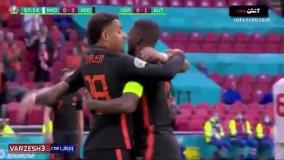 خلاصه بازی مقدونیه 0 - هلند 3