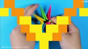 چند بازی جذاب با اوریگامی
