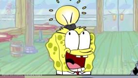 چالش باب اسفنجی و آقای خرچنگ _ تم صورتی و زرد