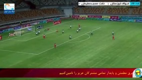 خلاصه بازی فولاد ۲ - نفت مسجد سلیمان ۰