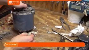 آموزش تعمیر پنکه سقفی - سرویس کردن و تمیزکاری پنکه درام