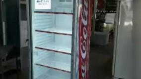 یخچال نوشابه تولید شده در صنایع برودتی زئوس