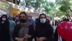 حس و حال مردم در گذر فرهنگی چهارباغ