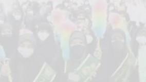 پیادهروی خادمیاران شهرضا به سمت امامزاده در سالروز ولادت ثامنالحجج علیمالسلام 2