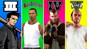 مقایسه گرافیک بازی GTA از سال 1997 تا 2021