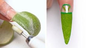 آموزش ترفندهای جالب برای طراحی ناخن : آموزش طراحی ناخن جدید