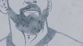 ترسیم زغالی چهره لیونل مسی در کفه نمک سیرجان