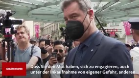 قدردانی ویزه آلمانی ها از پناهجوی ایرانی