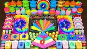 اسلایم رنگین کمانی - اسلایم بازی - رضایت بخش و ریلکسیشن