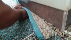 برش فرش های سجاده ای