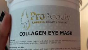 ماسک کلاژن کریستالی چشم پروبیوتی| ماسک کلاژن دار زیر چشم