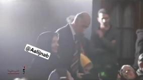 ویدئویی از تقدیر بابک خردمین از پدر مادرش