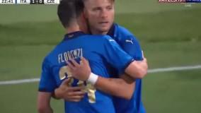 خلاصه بازی ایتالیا 4 - جمهوری چک 0