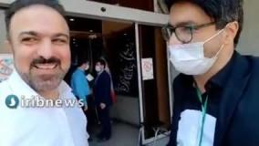 انتشار سوالات مرتضی حیدری قبل از آغاز مناظره