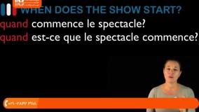آموزش زبان فرانسه - پاسخ به سوالات زبان فرانسه با QUAND (مقدمات فرانسوی درس 22)