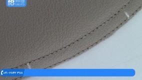 آموزش تودوزی خودرو - نصب روکش کناره های صندلی اسپرت