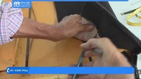 آموزش تودوزی خودرو - نحوه اتصال روکش صندلی با سیم به صندلی