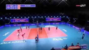 خلاصه والیبال ایران 3 - آمریکا 0
