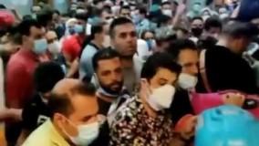 ویدئوی جدید از مسافران ایرانی در مرز ارمسنتان